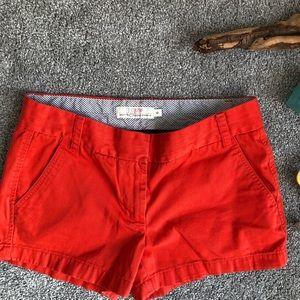 J. Crew Chino Broken-In Orange Shorts-6
